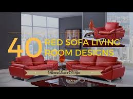 red sofa decorating ideas you