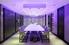 interior led lighting for homes. Gallery Of Led Lighting For Home Interior Advantageous Design Sense Rectangular White Table Glowing Blue Homes I