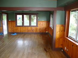 Painted Knotty Pine Knotty Pine In A Craftsman Home Floor Fireplace Color Plank