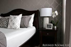 Monochromatic Grey Master Bedrooms Monochromatic Master Bedroom Traditional  Bedroom ...