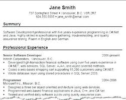 Resume Summary Template Extraordinary Executive Summary Example For Resume Examples Of Summary In Resume