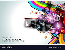Art Event Flyer Disco Flyer Art For Music Event Backgrounds