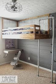 bunk beds built into wall beautiful modern bunk bed plans 13 cana dian s