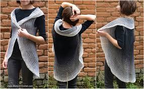 Crochet Garment Design Yarnaddiction Here Is Whirl Again Cardigan Pattern