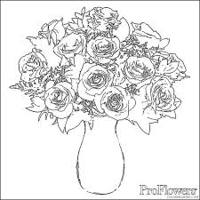 Color pictures of baby animals, spring flowers, umbrellas, kites and more! Printable Rose Coloring Pages Fo Adults Coloring4free Coloring4free Com