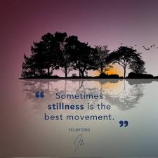 Stillness | Be still quotes, Inspirational quotes, Dont compare