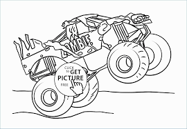Bigfoot Monster Truck Coloring Pages Lovely Free Monster Truck