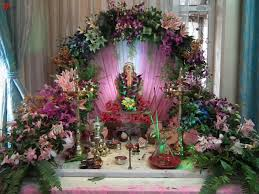 festive decoration for ganpati my decorative