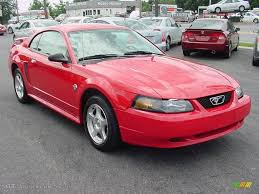 2004 Torch Red Ford Mustang V6 Coupe #16457943 | GTCarLot.com ...