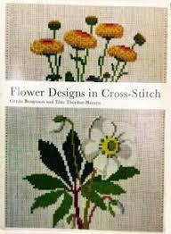 Flower Designs Cross Stitch Design Haandarbejdets Fremme Chart Cross Stitching Embroidery In Denmark In North Europe