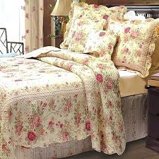 french country bedding romantic chic shabby cottage rose quilt set french country red and black french