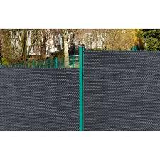 Gartenfreude Polyrattan Sichtschutz 300 Cm X 75 Cm Anthrazit