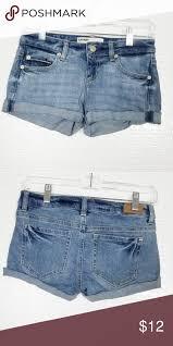 Garage Flirty Shorts Denim Shorts Euc Measurements Approx