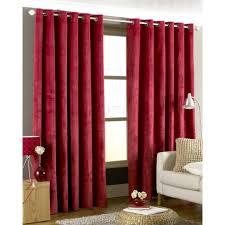 Velvet Curtains An Aspect Of Creativity Mccurtaincounty Intended For Dark Red  Velvet Curtains (Image 14