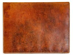 antique leather book cover by okculaw