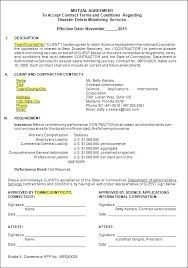 Termination Contract Agreement Letter Template Subcontractor ...