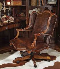 antique leather office chair. century furniture home office cabot executive chair walter e. antique leather i