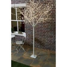 Blossom Christmas Tree With Led Lights Led White Oriental Blossom Tree