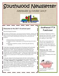 Education Newsletter Templates Education Back To School Newsletter Sample Templates At