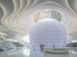 Architectural Design Animation In Blender Dramatic Architectural Design For A Library In China By Mvrdv