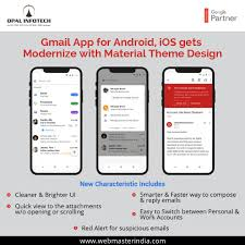 Gmail App New Design