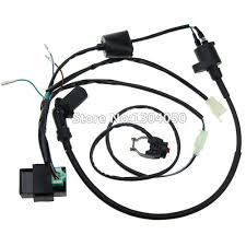 font b Complete b font Kick Start Engine font b Wiring b font font b online get cheap complete wiring harness aliexpress com alibaba on ignition switch wire harness