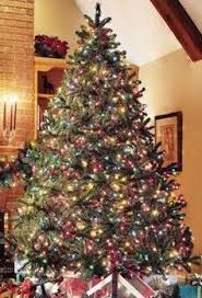 how-to-decorate-a-christmas-tree-artificial-douglas-. Christmas Light Colors:  ...