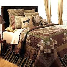 rustic quilts for cabins log cabin bed set amazing rustic bedding over comforters quilts with regard