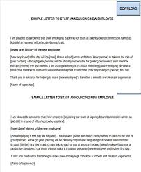 new employee announcement 10 staff announcement examples pdf doc examples