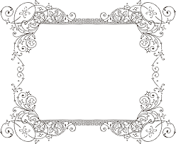 Black vintage frame design Line Art Decorative Backgrounds For Word Documents More Free Clipart Vintage Frames Borders Ornaments Starsunflower Pinterest Decorative Backgrounds For Word Documents More Free Clipart