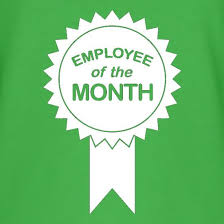 Emploee Of The Month Employee Of The Month T Shirt By Chargrilled