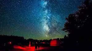 A la sombra de la Vía Láctea en el Parque Cherry Springs