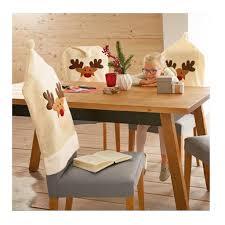 Рождественская <b>накидка на спинку</b> кресла с изображением лося ...