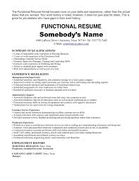 Resume Template Examples A Sample For College Student Customer