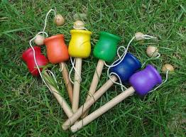 Wooden Ball And Cup Game Delectable Classic Toy Wooden Ball And Cup Toss Game Old Fashioned Waldorf Toy