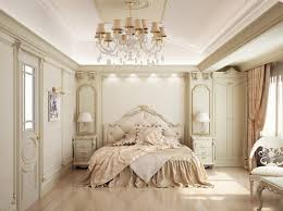 bedroom elegant white bedroom ideas duals night stand circle shine crystal chandelier gray gloss two