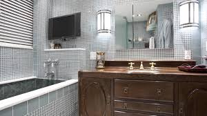 art deco bathroom. Bathroom Remodel Incorporating Components Of Art Deco Style Through Use Tiles And Light Fixtures - YouTube