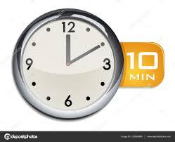 Timer 10 Minutes Office Wall Clock Timer 10 Minutes Stock Vector Ayax55 133068480
