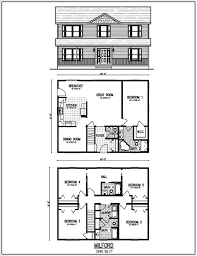 splendid architecture house plans two story thompson hill homes inc floor plans two home house