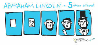 Presidency Chart Abraham Lincoln 16th Answers Happy Independence Day Draw Abraham Lincoln In 5 Easy Steps