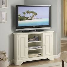 corner tv stand white. brilliant white corner tv stands for flat screens special product tall stand