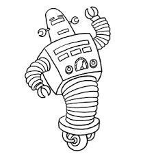 Robots Kleurplaten Leuk Voor Kids