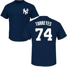 Torreyes Yankees T-shirt Ny Ronald Adult Navy - D Wizzle's World
