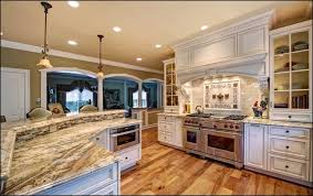 Fancy big open kitchen ideas for home Beautiful If Its As Large As It Looks They Paid Ton On Structure To Eliminate The Wall And Columns For This Open Concept Homebuilding Renovating 123 Breathtaking Ushaped Kitchen Designs