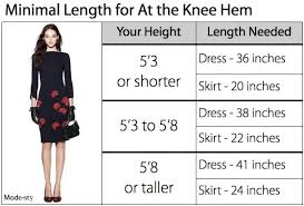 Draw Length Chart Where Do You Draw The Line In 2019 Skirts Modest Skirts