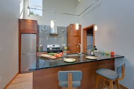 suspended track lighting. Suspended Track Lighting Kitchen Modern With Counter Stools Dadu Gray