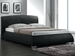 leather platform bed king size leather bed frame king size new brilliant faux leather platform bed
