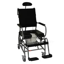 tilt in space shower commode chair