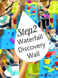 step 2 waterfall discovery wall step 2 water wall splashing around with the waterfall discovery wall