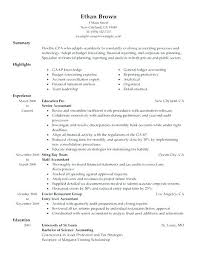 Accounting Resumes Stunning General Ledger Accountant Resume Accountant Resume Sample General